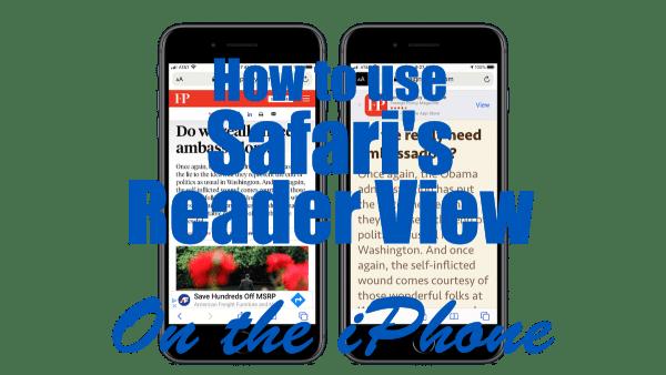 Safari's Reader View