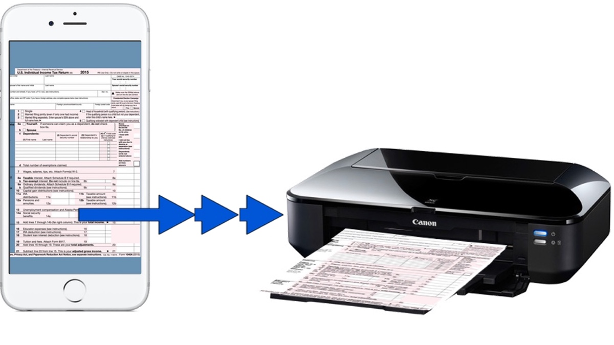 iPhone to printer
