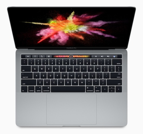 The new MacBook Pro, with Touch Bar