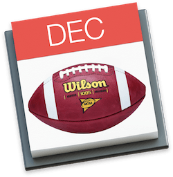 2017-2018 College Football Bowl Games Calendar for iPhone, iPad, and Mac