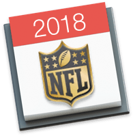 NFL Schedules and Calendars for the 2018 Season