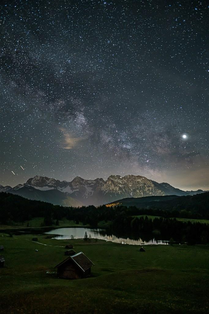Geroldsee bei Nacht | Fujifilm X-T3 | 16mm