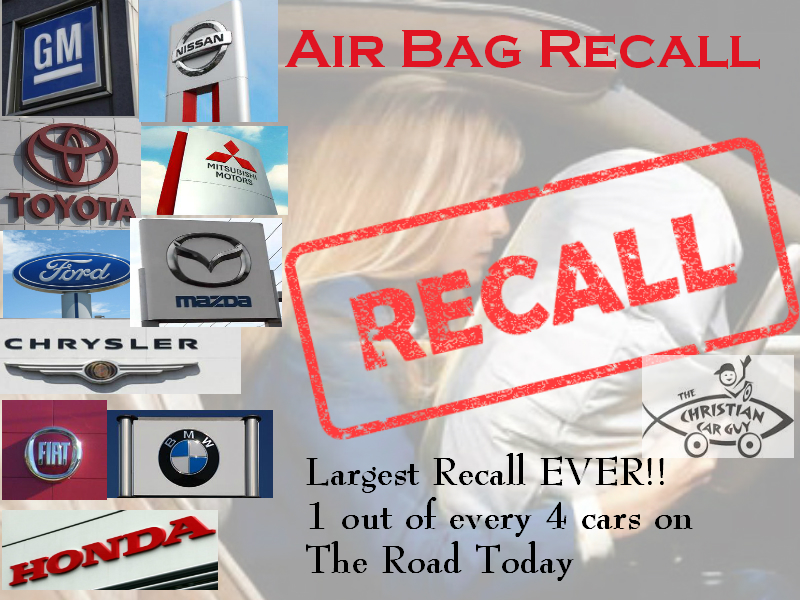 Air Bag Recall Mix