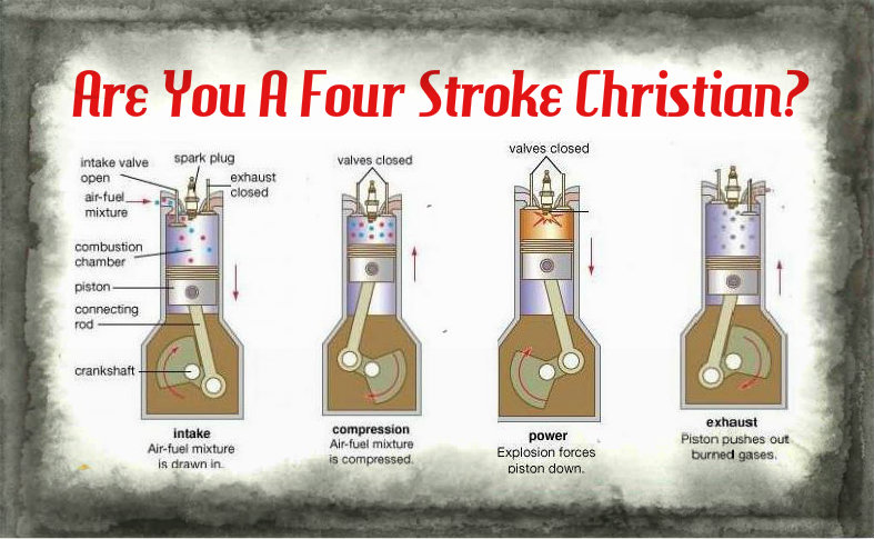 Are You A Four Stroke Christian