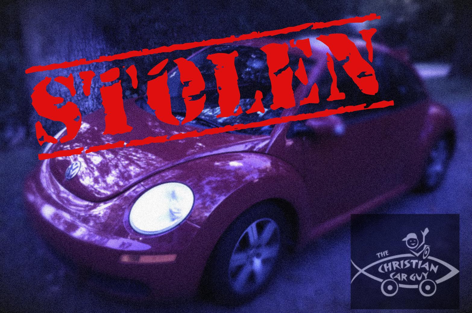 """Stolen """"Not My Car!"""""""