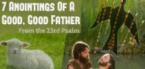 7 Anointings Of A Good Good Father from the 23rd Psalm