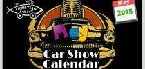 Car Show Calendar May 2018