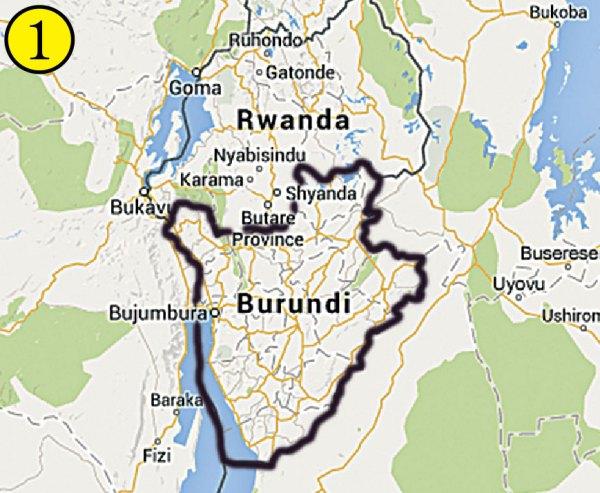 Map From Burundi and Bhutan to Texas The Christian