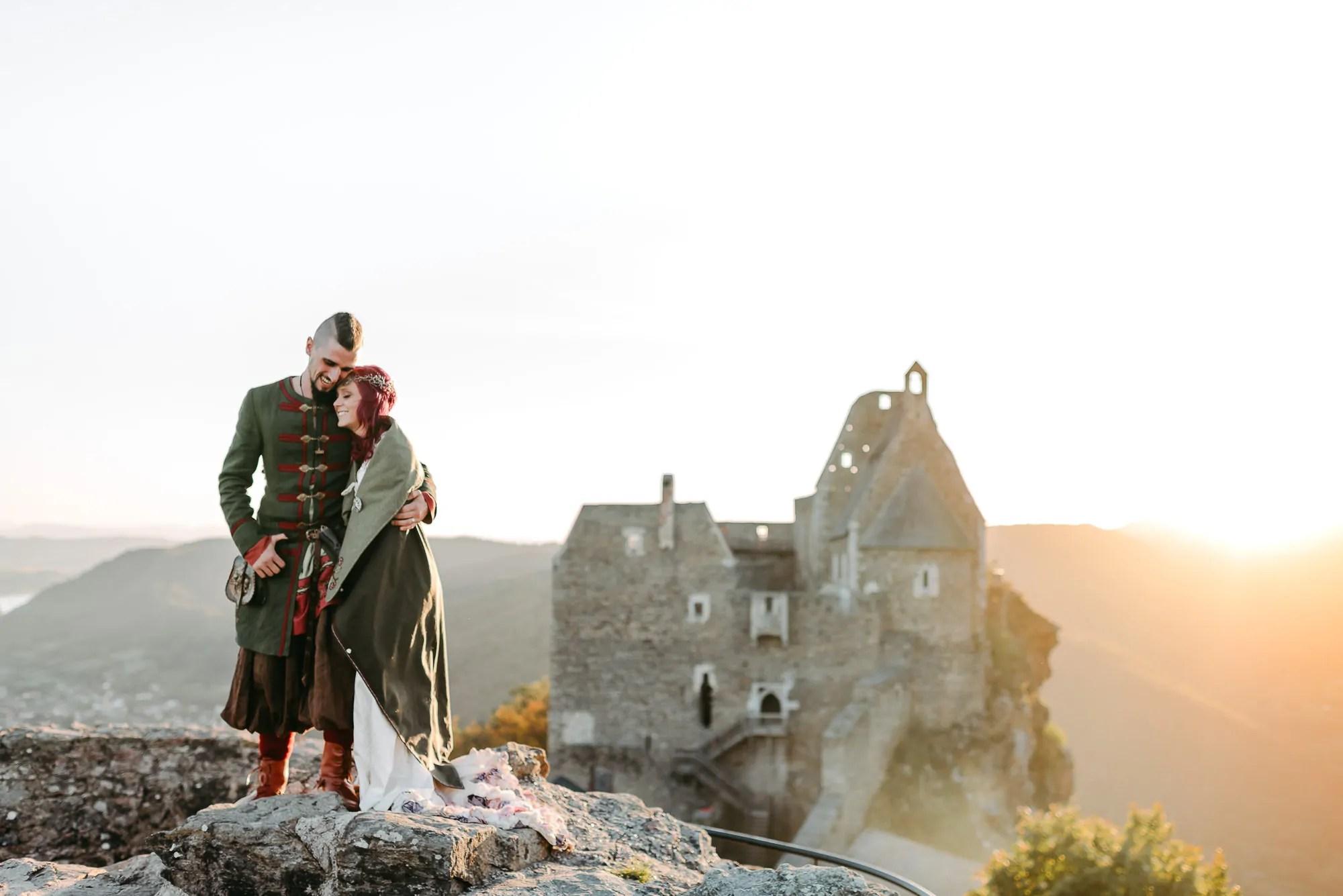 Hochzeitsfotograf Burgruine Aggstein