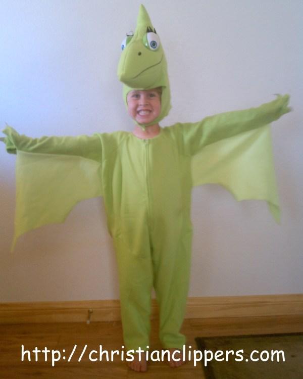 Giveaway Dinosaur Train Halloween Costume Book Closed
