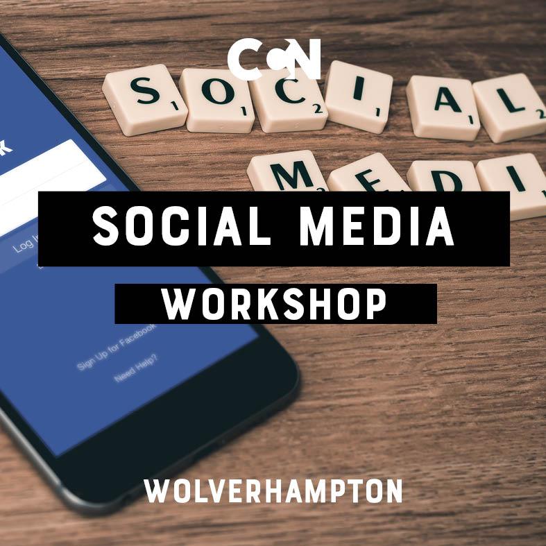 WOLVERHAMPTON: Social media to promote your creativity 13-04-2019 -  Christian Creative Network UK
