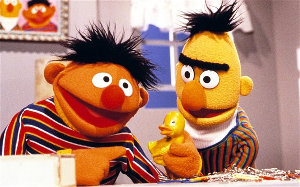 Christian Bakery Bert and Ernie