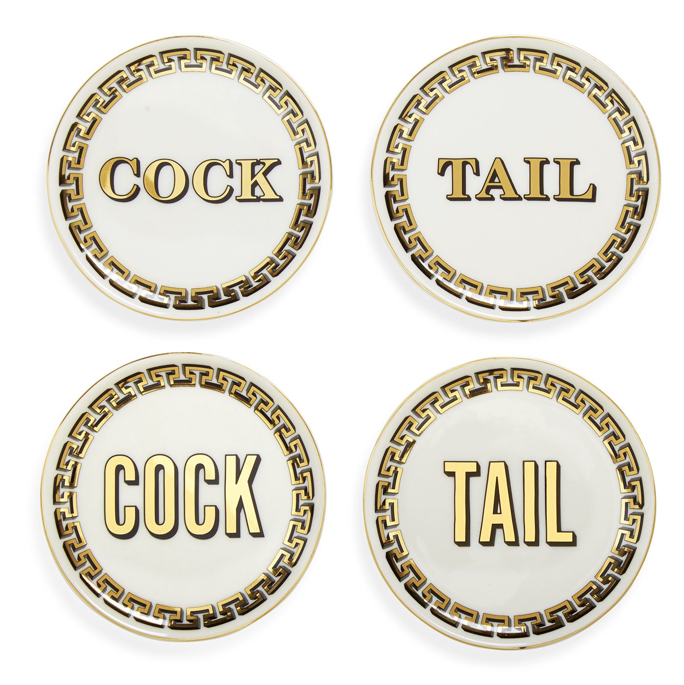 Cocktail Coasters from Jonathan Adler