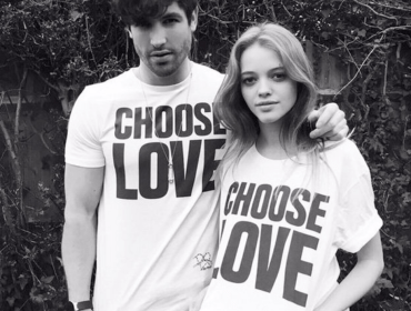 Choose Love Tee by Katharine Hamnett