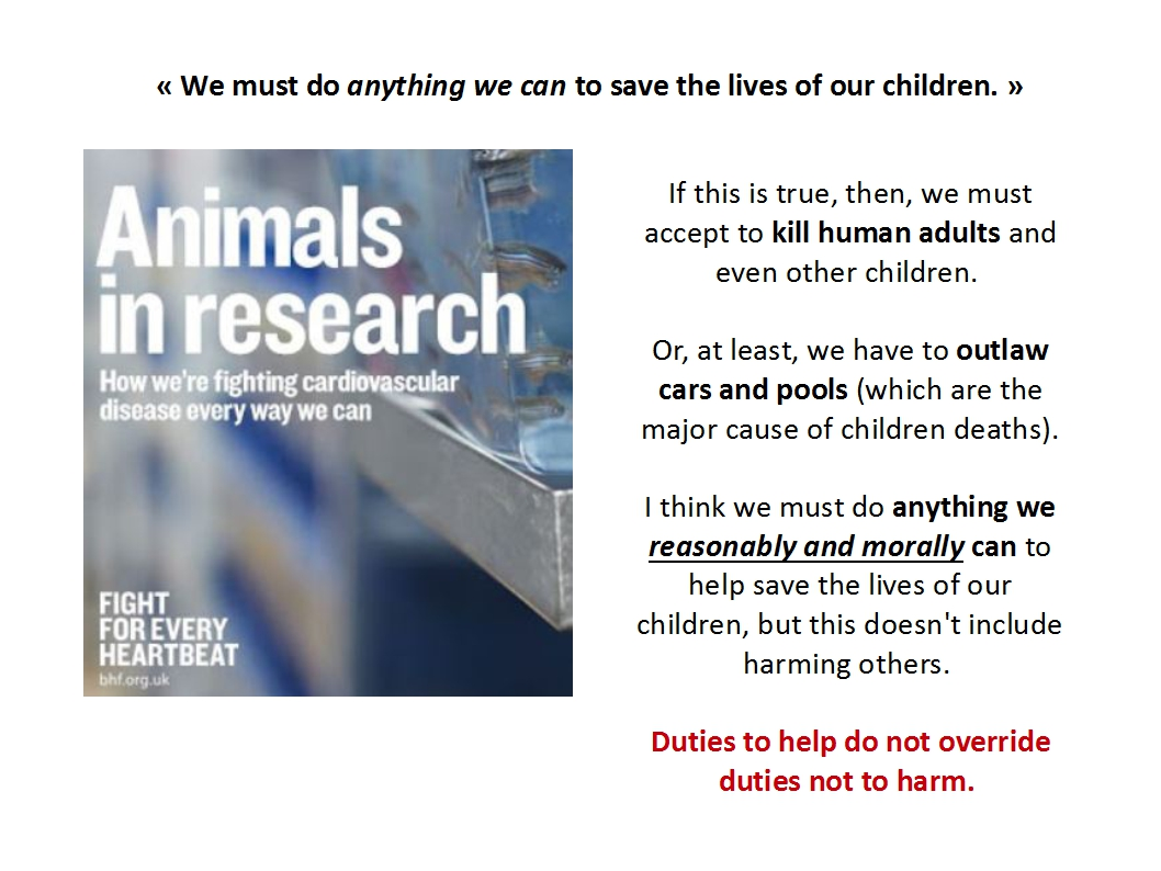 Presentation Animal Experimentation Bailey 2015_duties to help