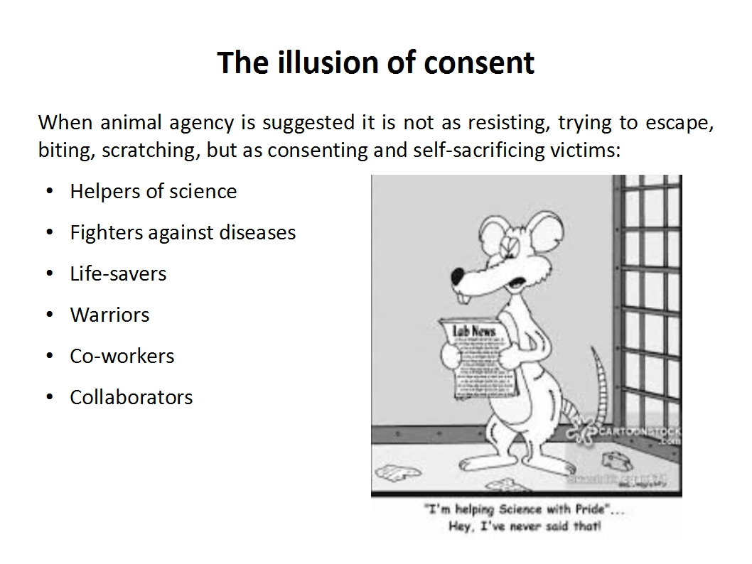 Presentation Animal Experimentation Bailey 2015_illusion of consent