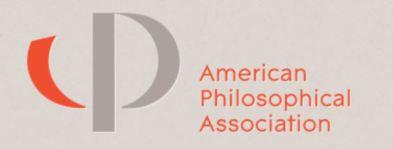 APA American Philosophical Association