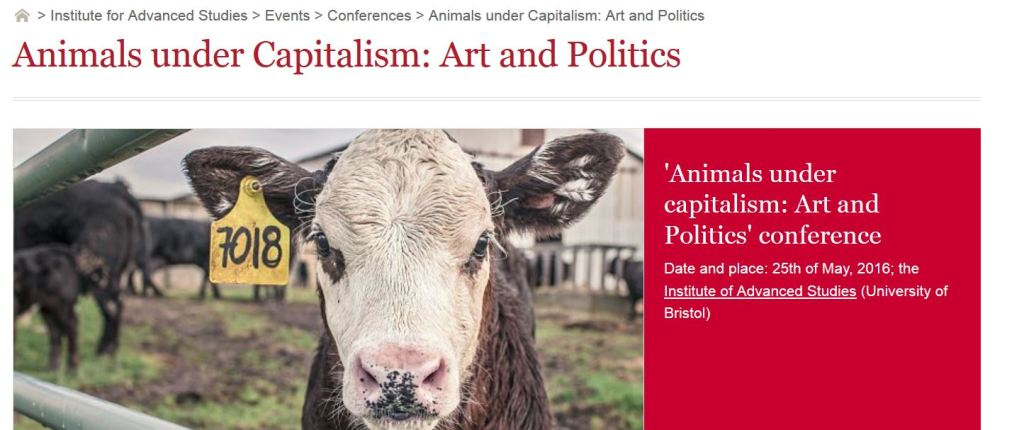 Bristol Animal Capitalism