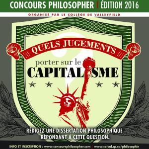 concours philosopher 2016 capitalisme