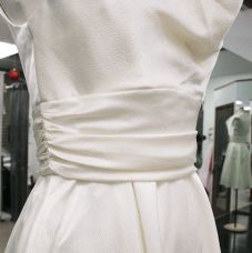 Charlene, an affordable wedding dress in Ottawa, in a size 8. Price $125