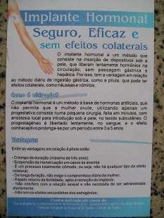 Implante hormonal