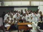 Visita dos alunos da UVA aos laboratórios da UFS