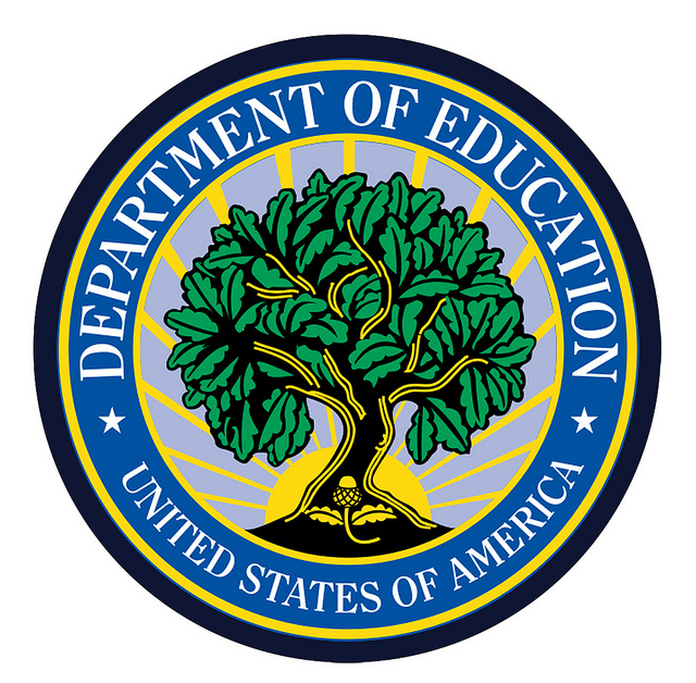 "This photo (click photo for link), ""Department of Education Seal"" is copyright (c) 2011 DonkeyHotey and made available under a Attribution 2.0 license (http://creativecommons.org/licenses/by/2.0/legalcode)"