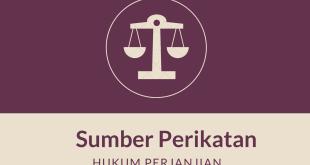 Sumber Perikatan Hukum Perjanjian