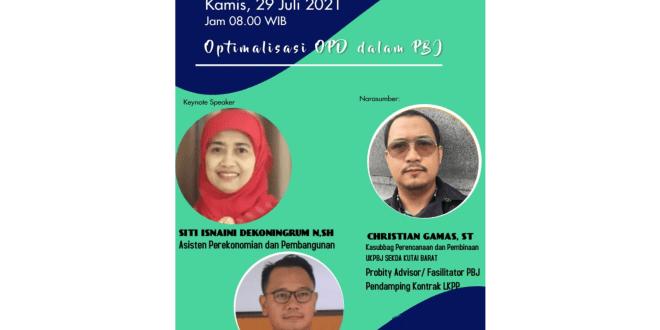 sharing session kab. gunung kidul 29 juli 2021