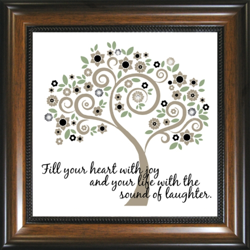 Inspirational Framed Glass Wall Art  The Christian Gifts Place Blog
