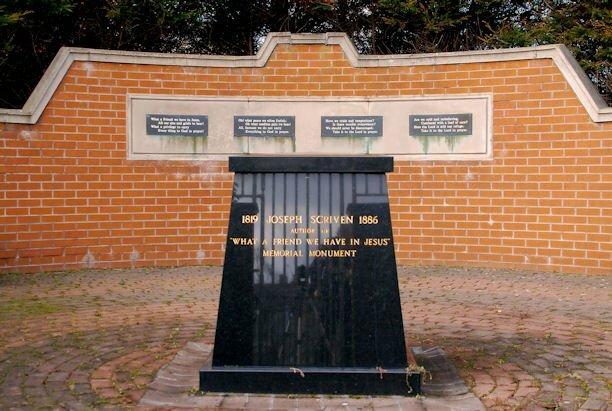 Joseph Scriven memorial Banbridge   geograph.org .uk   1730091