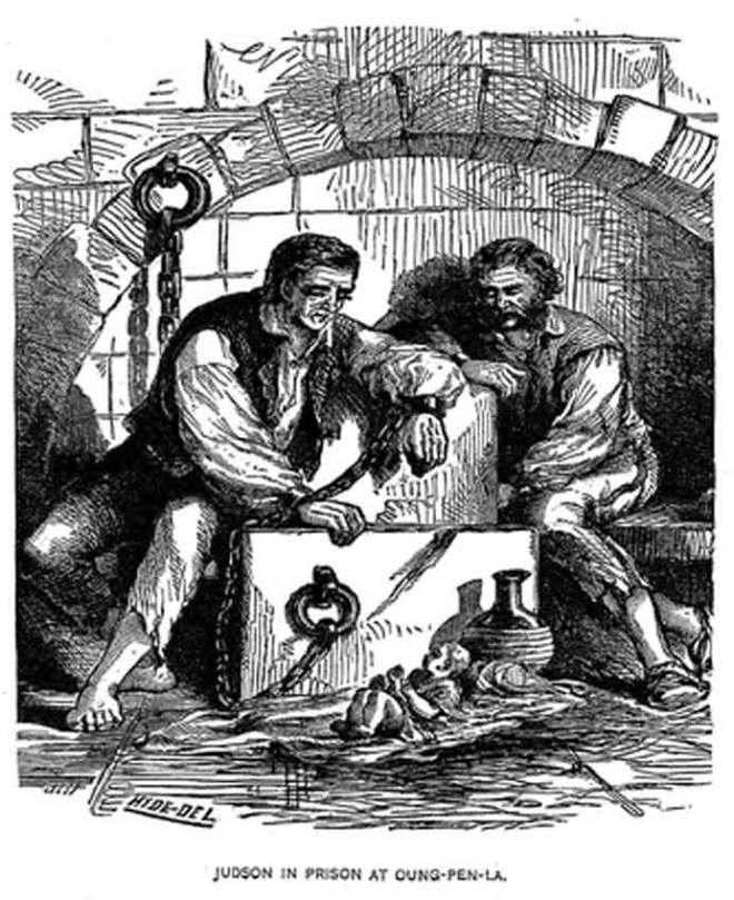 Adoniram Judson imprisoned