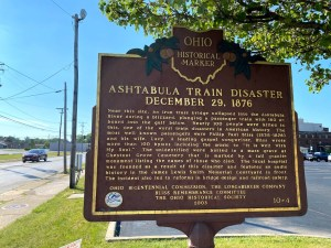 Ashtabula Historical Marker