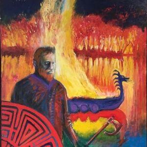 Portrait of Gunnar by Marios Orozco
