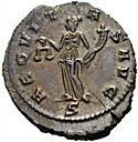 Roman Coin With Balances
