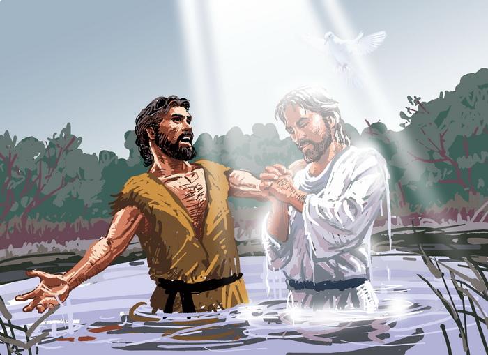 Image result for john the baptist baptizing people