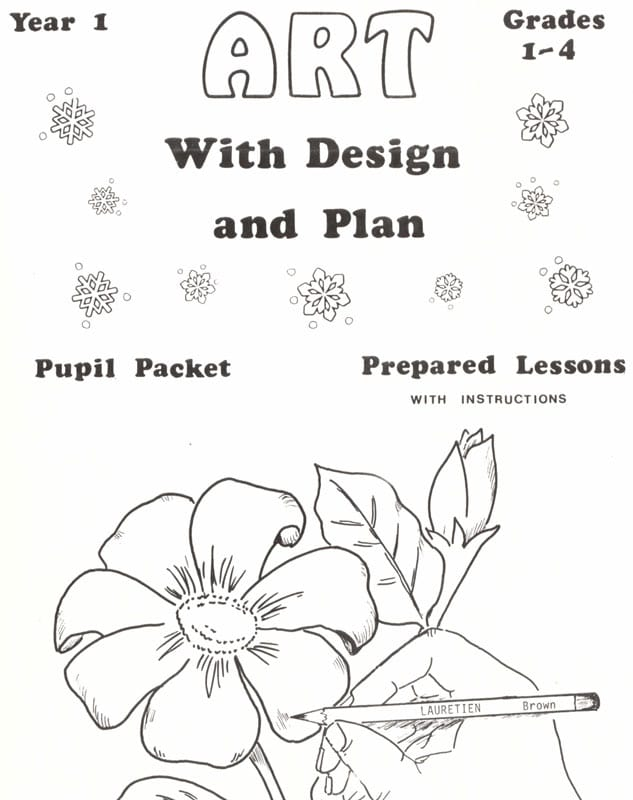 Art With Design and Plan, Grades 1-4, first year: Kauffman