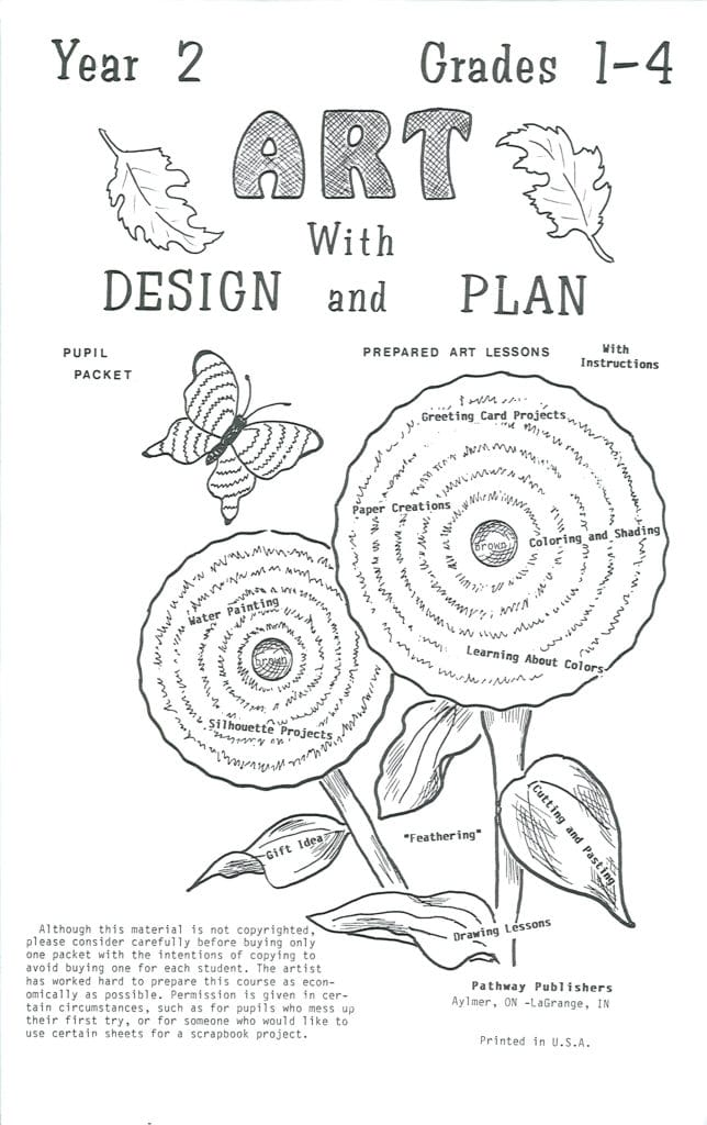 Art With Design and Plan, Grades 1-4, second year