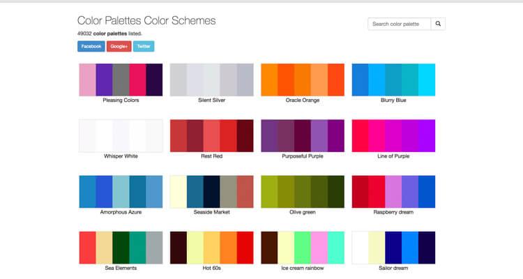 Gua para crear la Combinacin de Colores PERFECTA