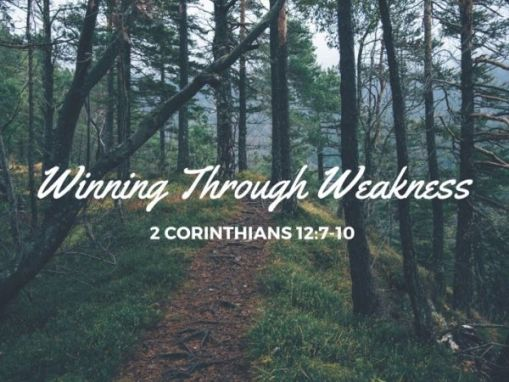 WINNING THROUGH WEAKNESS