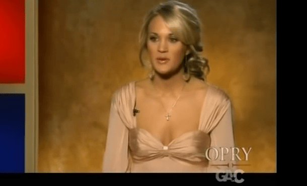 Carrie Underwood sings How Great Thou Art