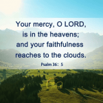 your love oh lord reaches to the heavens