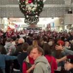 Christmas Flash Mob Merrily On High
