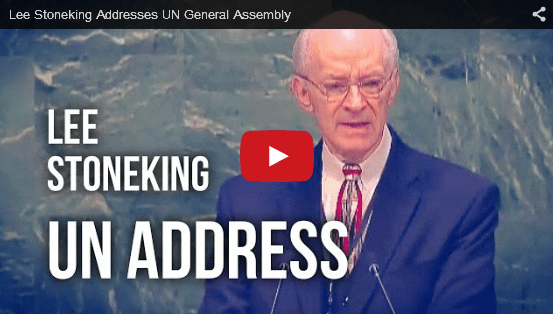 Lee Stoneking Testimony UN General Assembly