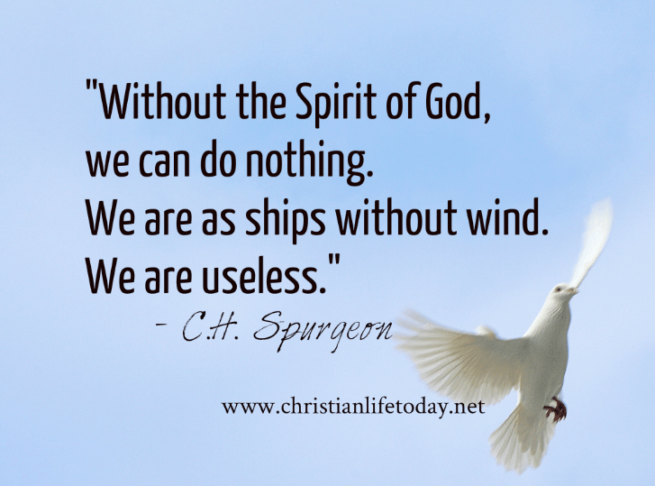 Quotes About The Holy Spirit Adorable Knowing The Holy Spirit Quotes  Christian Life Today