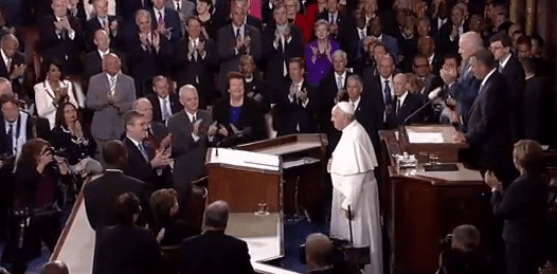 VIDEO and Full Text Pope Francis Speech at Joint Session of US Congress