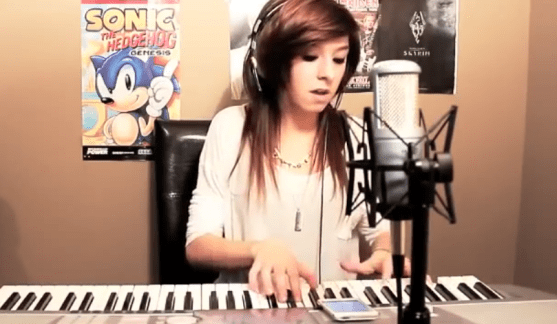 Christina Grimmie Sings In Christ Alone