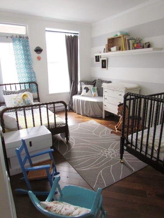 Shared Nursery BabyToddler Room Christian Mom Values