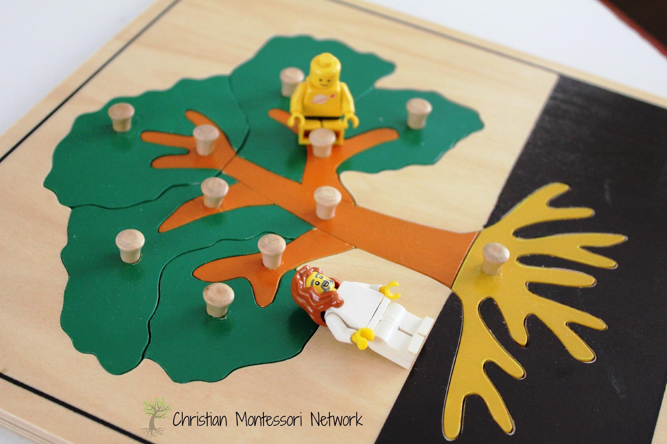 Zacchaeus Montessori Inspired Bible Lesson Christian Montessori Network