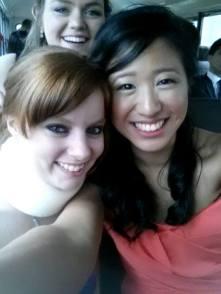 Me, Jen, and Amy at Kappa's Formal